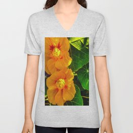 Two Bright Centers Unisex V-Neck