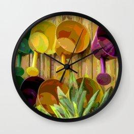 Gardening Helpers Wall Clock