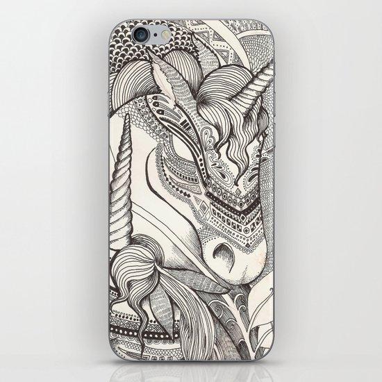 Inner princess iPhone & iPod Skin