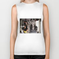 buffy Biker Tanks featuring After Heaven - Buffy  by Hannah