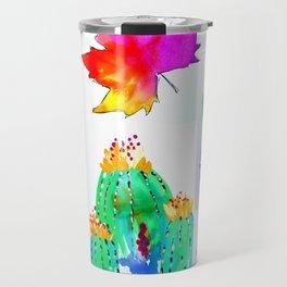 Watercolor Garden Travel Mug