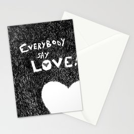 EverybodySay Love! Stationery Cards