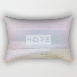 Lost Vision, Hope Rectangular Pillow