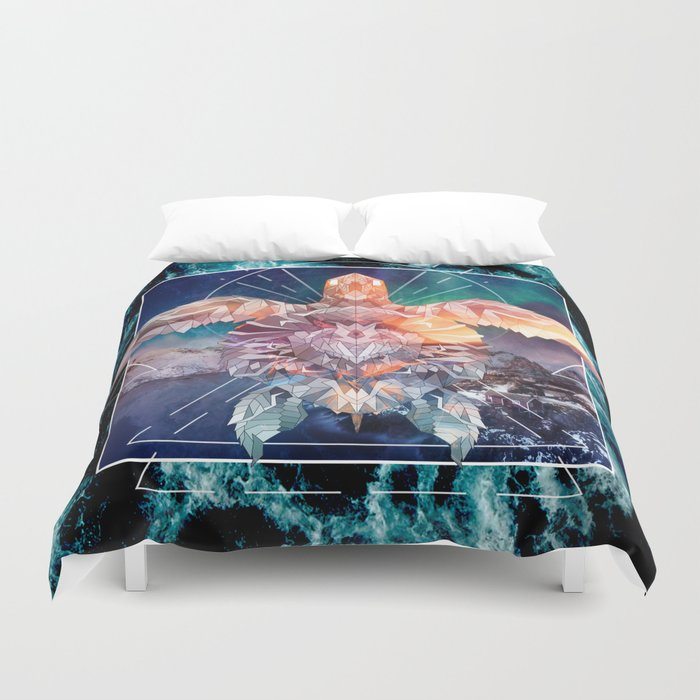 Spirit of the Ocean Duvet Cover