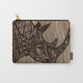 Wood Rhino Black Carry-All Pouch