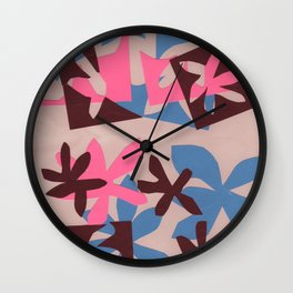 After Matisse Wall Clock