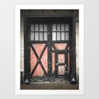 Garage Door Art Print