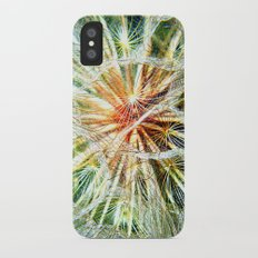 Up Close and Personal Dandelion Slim Case iPhone X