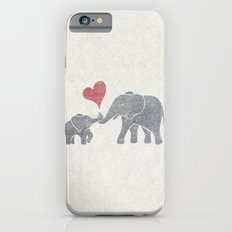 Elephant Hugs iPhone 6 Slim Case