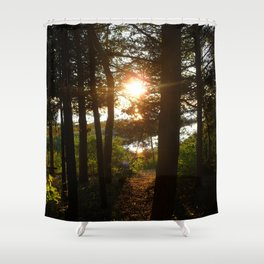 Sun on the Water Shower Curtain