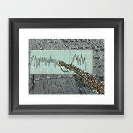 Las ciudades como ríos Framed Art Print