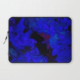 A dark blue crash Laptop Sleeve