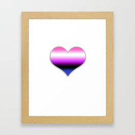 Genderfluid Framed Art Print