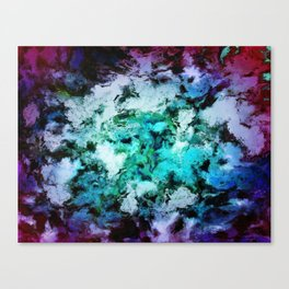 Cool places Canvas Print