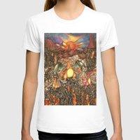 charizard T-shirts featuring charizard war  by IceDragon15