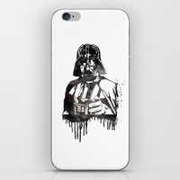 darth vader iPhone & iPod Skins featuring Darth Vader by Jon Hernandez