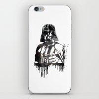 darth vader iPhone & iPod Skins featuring Darth Vader by Jon Hernandez