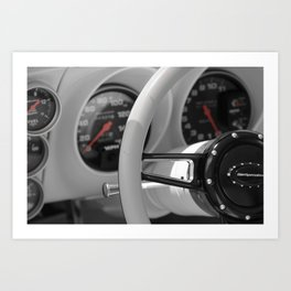 The Driver's Seat Art Print