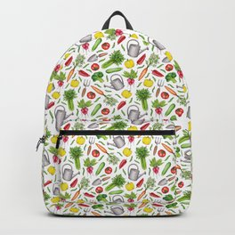 Summer Vegetable Garden Backpack