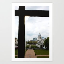 View from the Queen's House Art Print