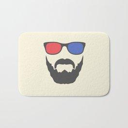 3D beard Bath Mat