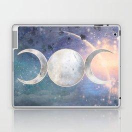 Heavenly Universe Triple Moon Goddess Laptop & iPad Skin