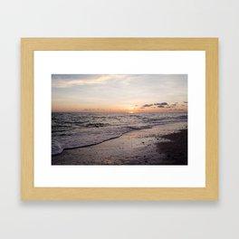 Last Moment of Summer Sun Framed Art Print
