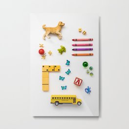 Kids' Stuff Metal Print