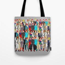 Rock Stars Heroes LV Gray Tote Bag