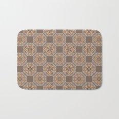 Beach Tiled Pattern Bath Mat