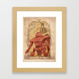Maximillian Framed Art Print