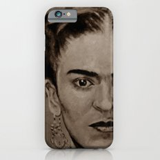 Frida Kahlo - sepia Slim Case iPhone 6s