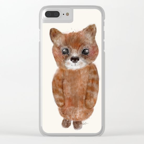 little ginger Clear iPhone Case
