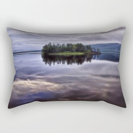 Lake of Two Rivers Rectangular Pillow