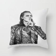 Loki Laufeyson Throw Pillow