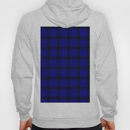 Large Dark Blue Weave Hoody