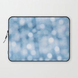 unfocused blue Laptop Sleeve