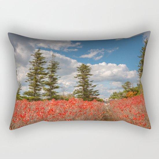 Autumn Huckleberry Wonderland Rectangular Pillow