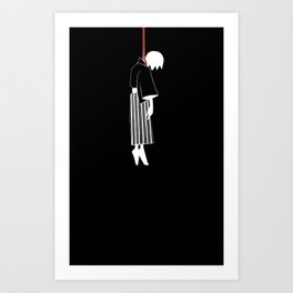 Sayonara Zetsubou Sensei Art Print