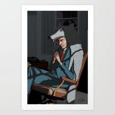 The Wolf of Wall Street - Leonardo Dicaprio Art Print