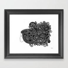 Nyanna by Nolenz Volenz Framed Art Print