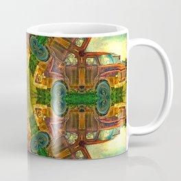 Rusty Bedford Truck Kaleidoscope Coffee Mug