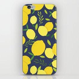 Freshly Picked Lemon iPhone Skin