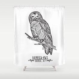 Barred Owl - Berea, KY Shower Curtain