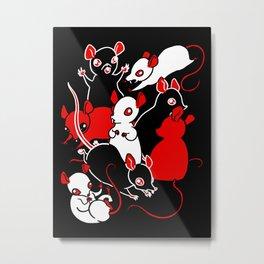 Oh Rats! Metal Print