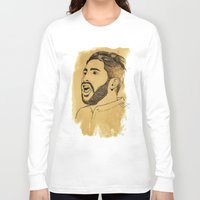 real madrid Long Sleeve T-shirts featuring Sergio Ramos - Real Madrid - Spain - Footballer by Matty723