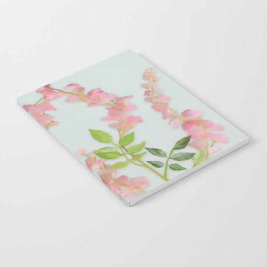 Pink Tiny Flowers Notebook