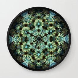 Resurrect Mandala 2 Wall Clock