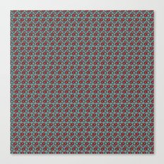 Bicycle Gear Heart Canvas Print