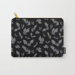 Bats Black Carry-All Pouch